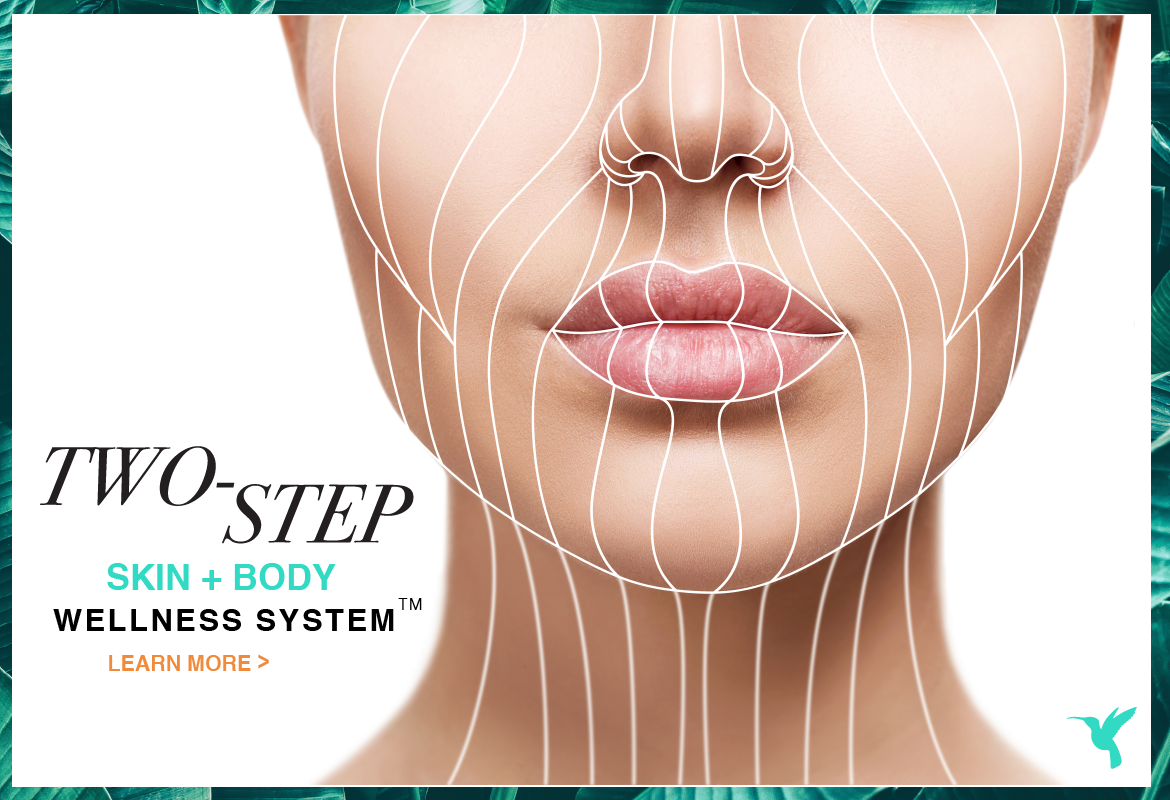 two-step skin and body wellness